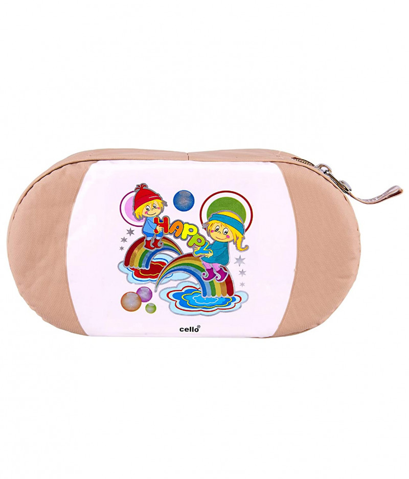 Cello GET EAT Soft Touch Lunch Box2 ContainerCream Buff